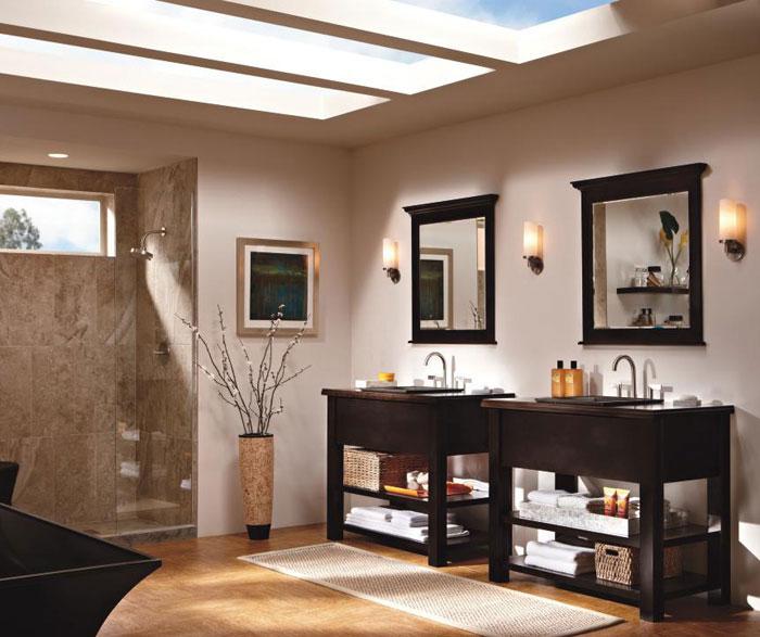 Contemporary bathroom vanities by Kemper Cabinetry
